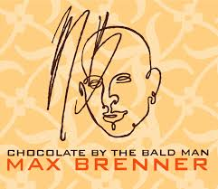 chocolate by the bald man - max brenner